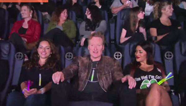 "Conan Crashes A ""Magic Mike XXL"" Girls' Night Out"