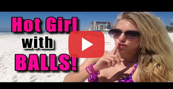 WATCH: Guys on the beach getting #catfished! #PRANK